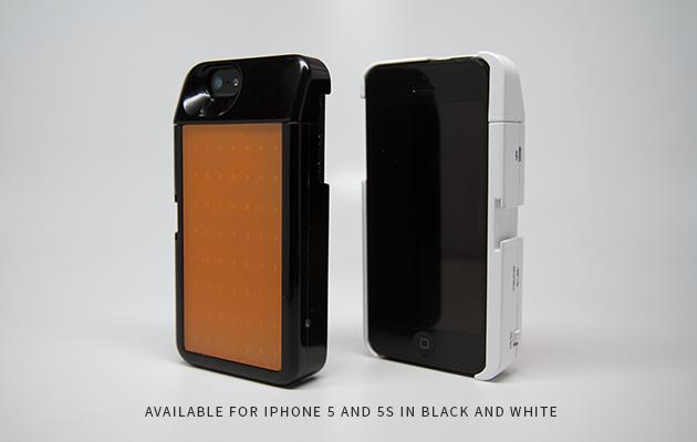 """Vỏ iPhone Ember tích hợp đèn LED hỗ trợ """"tự sướng"""""""