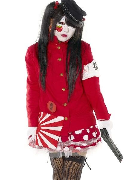 Phong cách thời trang nổi loạn với các cô gái Tokyo