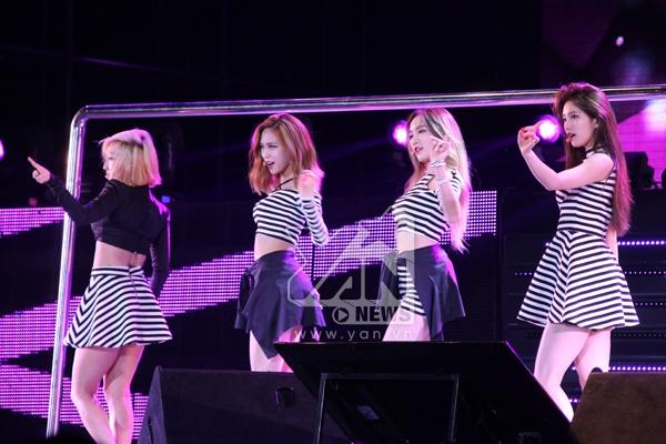 Miss A gây bão với hàng loạt hit Goodbye baby, Hush...