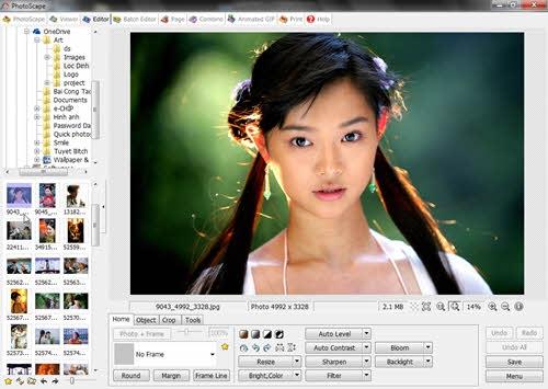 """Chỉnh sửa ảnh cực đẹp cho dân """"tay mơ"""" với PhotoScape"""