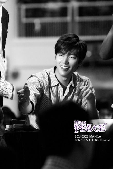 Những hình ảnh lịch lãm của Lee Min Ho trong buổi họp mặt fan.