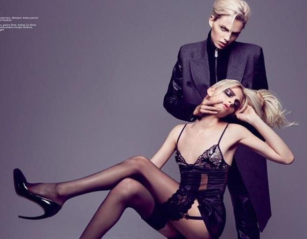 5 người mẫu lưỡng tính nổi tiếng thế giới