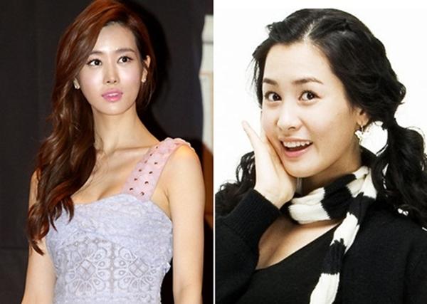 """Khi đóng """"My Girl"""", Lee Da Hae đã chinh phục trái tim khán giả bởi gương mặt nhỏ nhắn, xinh xắn, nét nhí nhảnh tuổi đôi mươi. Tuy nhiên, theo thời gian, mặt nữ diễn viên này trở nên cứng nhắc, gần như tượng sáp."""