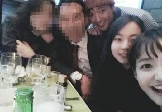 Cựu thành viên Wonder Girls - Sohee đăng tải hình đi ăn cùng đồng nghiệp