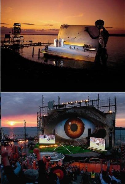 Ấn tượng các nơi vui chơi giải trí nổi trên mặt nước