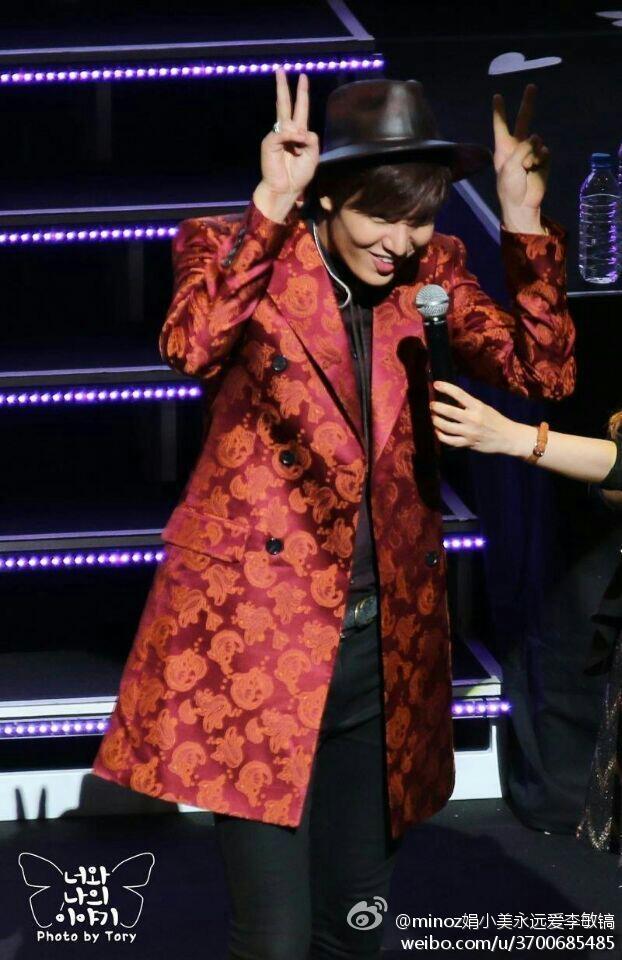 Lee Min Ho biểu diễn Gwiyomi trên sân khấu cực dễ thương