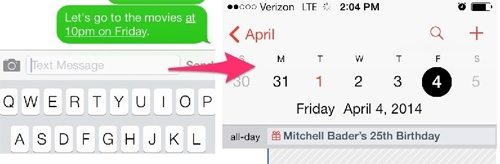 Bằng sáng chế của Apple từ năm 1999 về khả năng hiển thị địa chỉ, thời gian, số điện thoại dưới dạng đường link trong tin nhắn.
