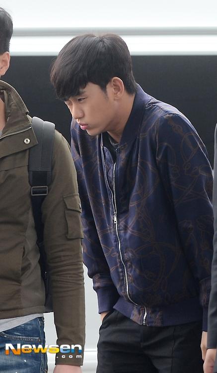 Kim Soo Hyun co ro trong cái lạnh sáng sớm tại Seoul