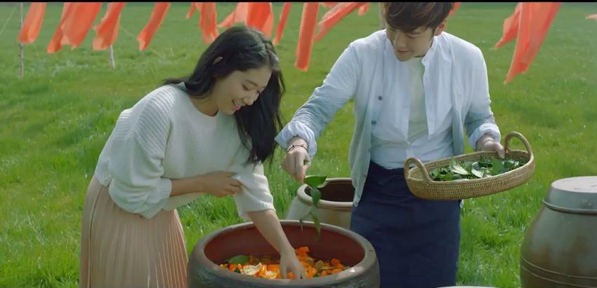 Jang Geun Suk và Park Shin Hye cực đẹp đôi trong mẩu quảng cáo