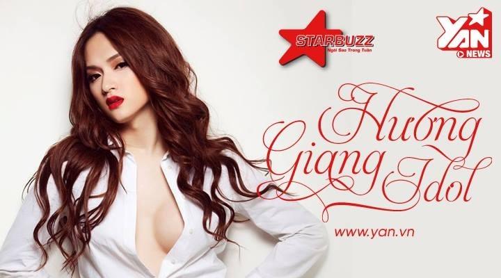 """""""BUZZ!"""" Hương Giang bằng cách gửi ngay câu hỏi, lời nhắn của bạn qua mail: starbuzz@yan.vn"""