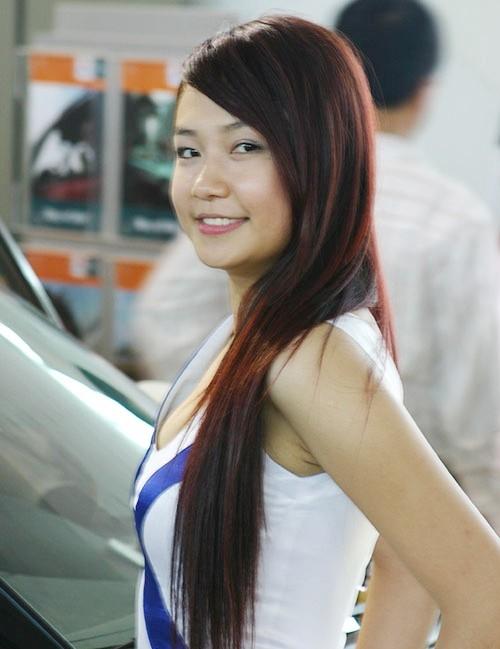 Hình ảnh khi Hương Baby làm PG.