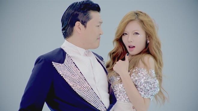 HyunA thành mỹ nhân Kpop được cả thế giới biết đến nhờ Gangnam Style