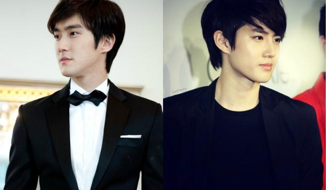 Siwon (Super Junior) và Suho (EXO)