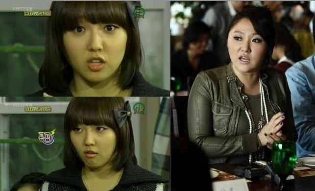 Min (Miss A) và Kim Hyun Sook