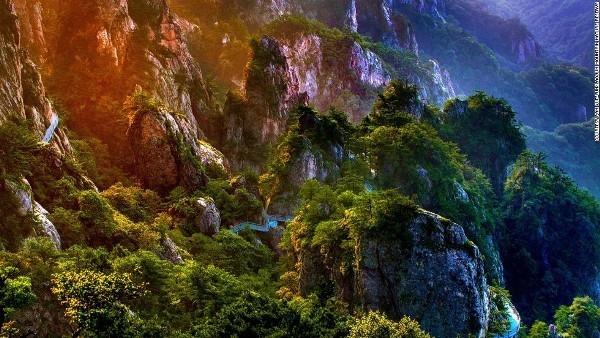 """Núi Laojun - Chốn """"bồng lai tiên cảnh"""" độc nhất vô nhị"""