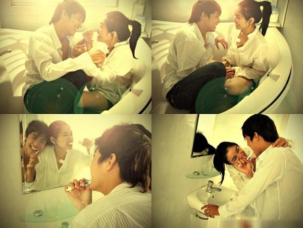 """Hình ảnh đẹp trong clip """"Mất em"""" cover nhạc phim """"Boy over flower"""" của Noo Phước Thịnh."""