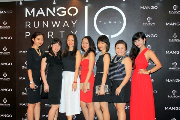 Tràn đầy sức sống MANGO Runaway Party