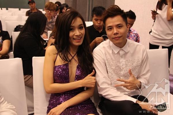 Nữ ca sĩ Minh Thư và nam ca sĩ Trịnh Thăng Bình. - Tin sao Viet - Tin tuc sao Viet - Scandal sao Viet - Tin tuc cua Sao - Tin cua Sao