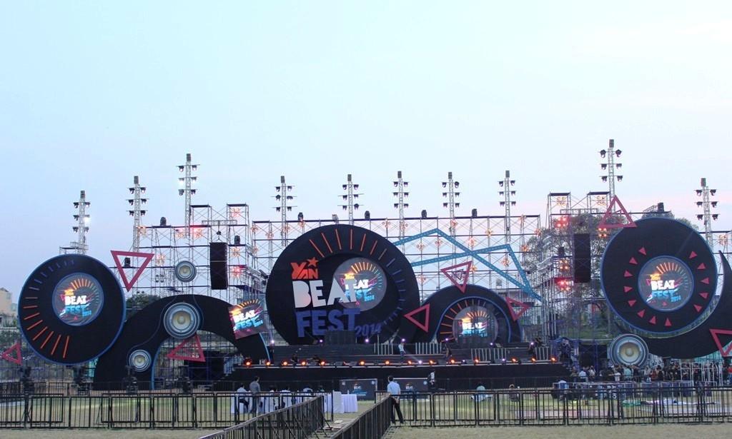 Hé lộ sân khấu tuyệt đẹp của YAN Beatfest