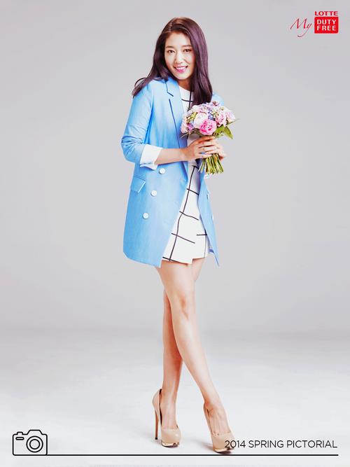 Những hình ảnh mới nhất của Park Shin Hye trong quảng cáo Lote Duty Free