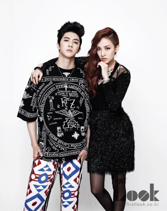 Chị em Dara (2NE1) và Thunder (MBLAQ)