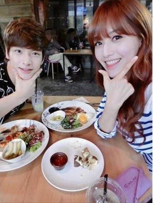 Jaehyun (N.Flying) và Jaekyung (Rainbow)