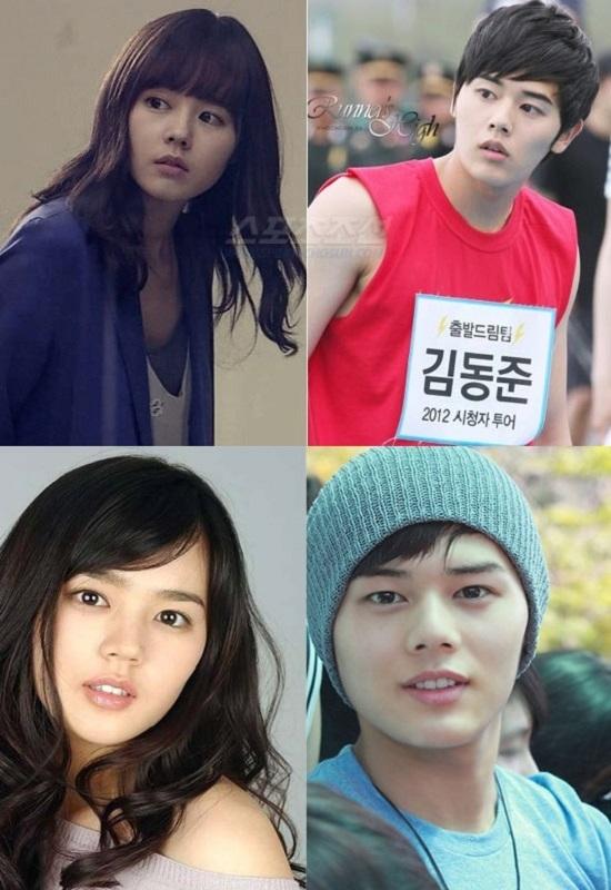 Nữ diễn viên xinh đẹp Han Ga In từng bày tỏ mong muốn được gặp cậu út Dong Jun của Ze:A vì có quá nhiều người nói rằng họ trông rất giống nhau.