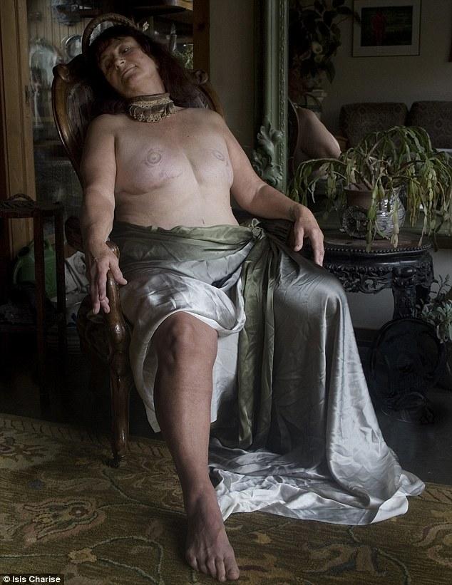Bức ảnh này được lấy cảm hứng từ Rhiannon, một tạo vật kỳ diệu trong thần thoại Welsh