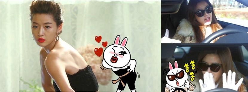 Jeon Ji Hyun (vai Chun Song Yi) sang chảnh dưới mọi góc nhìn và cũng là tâm điểm hài hước cho cả bộ phim