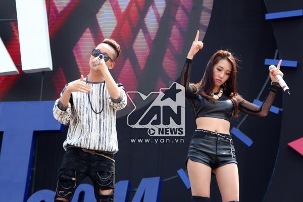 'Cặp đôi' Xin anh đừngrất chất trên sân khấu YAN Beatfest