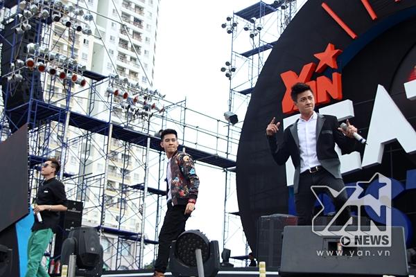 Bộ 3 trai đẹp Trịnh Thăng Bình - Hồ Vĩnh Khoa - Ngô Kiến Huy quậy tưng trên sân khấu