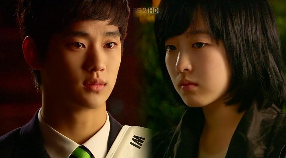 Với Park Bo Young trong Jungle Fish (2008)