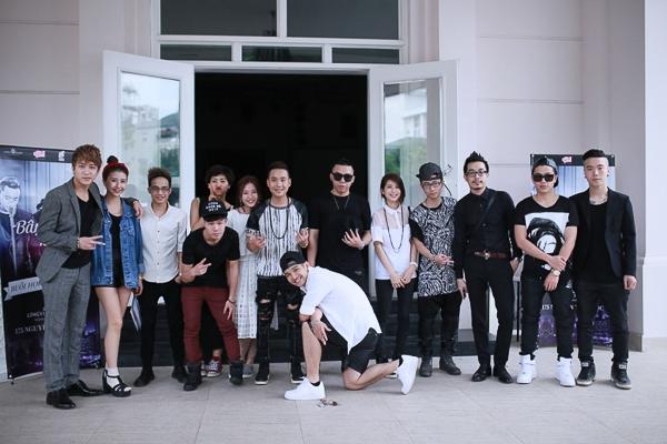 Dàn Sao trẻ tại Thủ đô đến chia vui cùng Justa Tee trong ngày ra mắt sản phẩm mới