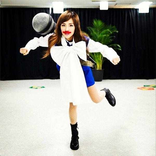 Dara đăng tải hình hóa trang cực ngộ nghĩnh