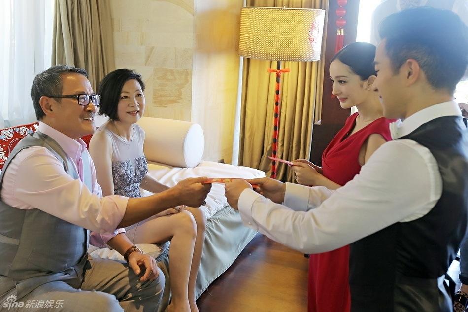 Dương Mịch - Lưu Khải Uy - vợ chồng Lưu Đan