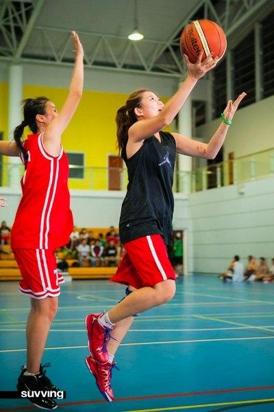 Hấp dẫn giải bóng rổ cực hot 3 VS 3 D'BLE SHOT