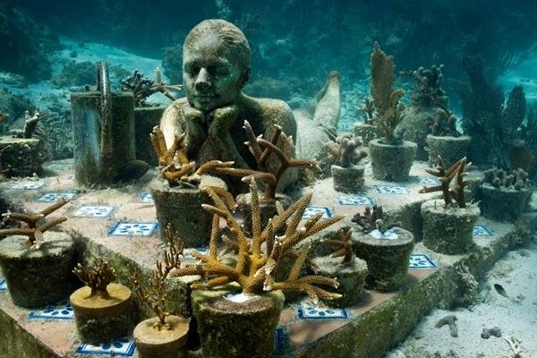Thích thú với bảo tàng dưới nước có một không hai trên thế giới