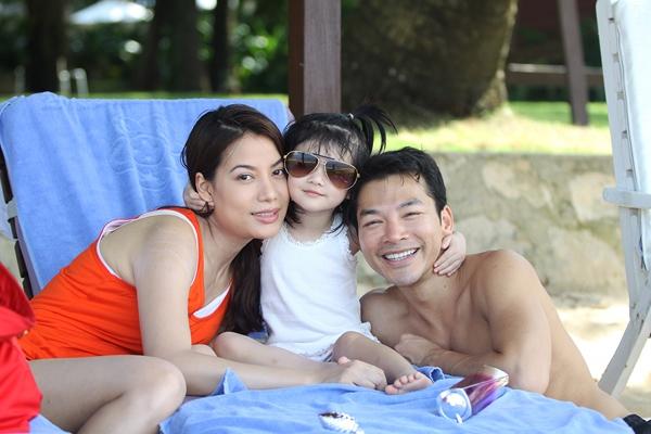 Vợ chồng Trương Ngọc Ánh và Trần Bảo Sơn đã có với nhau một cô con gái rất đáng yêu.