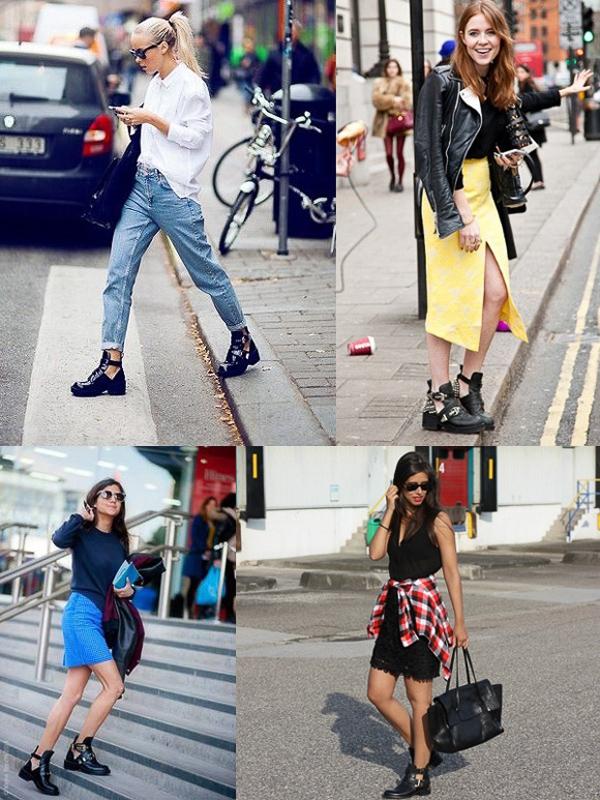 Bắt kịp xu hướng giày cut-out cá tính cho mùa hè 2014