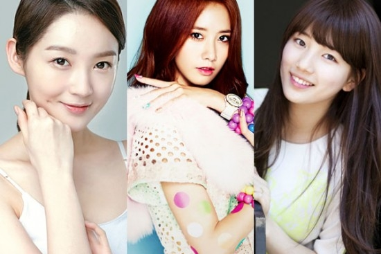 """""""Đôi mắt đẹp nhất"""" thuộc về Kang Min Kyun (Davichi), kế tiếp là YoonA (SNSD) và Suzy (Miss A)."""