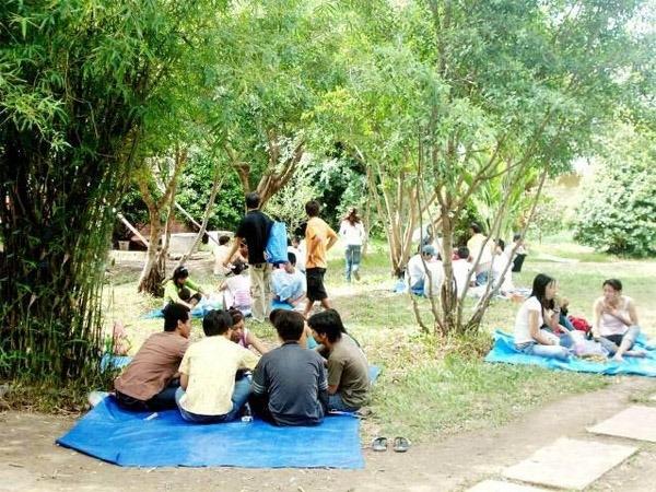 Bọ cạp Vàng thu hút đông đảo các bạn trẻ đến vui chơi, giải trí