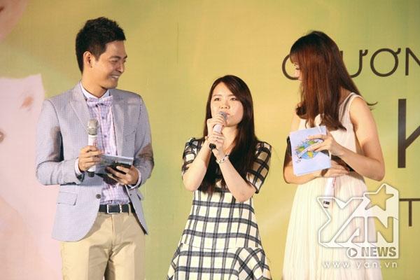 Ngân Lê - fan của Kim Soo Hyun đã tham gia chương trình Hát cùng thần tượng