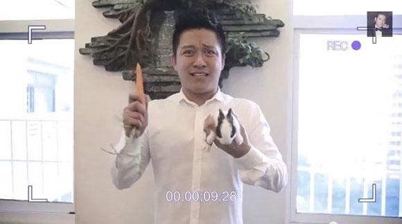 Hình ảnh hài hước của Tuấn Hưng trong clip cầu hôn vợ - Tin sao Viet - Tin tuc sao Viet - Scandal sao Viet - Tin tuc cua Sao - Tin cua Sao
