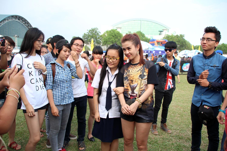 Đóng vai San San, Ngọc Thảo cũng nhận được sự yêu mến của khá nhiều khán giả trẻ
