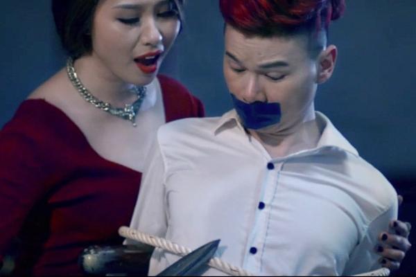 """Hoàng Tôn khá """"dễ thương"""" trong vai diễn chàng trai bị bắt cóc, đánh ghen"""