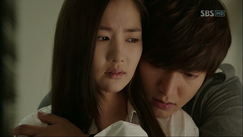 Park Min Young và Lee Min Ho trong City Hunter
