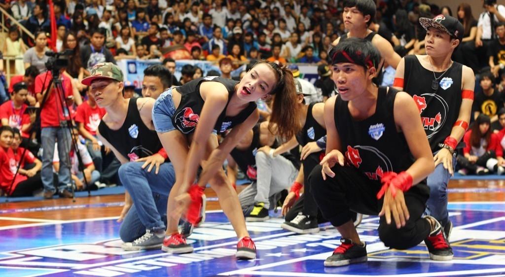 Băng ca xác ướp tung hoành sàn đấu nhảy đối kháng VUG
