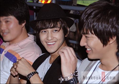Kim Bum và Lee Min Ho