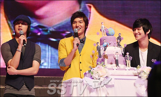 Bộ ba thân thiết: Lee Min Ho, Kim Bum và Jung Il Woo