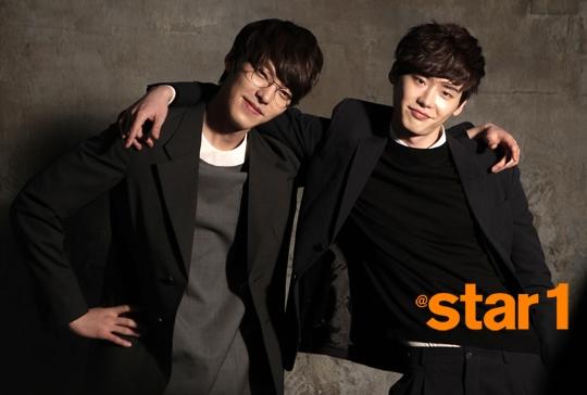 Lee Jong Suk và Kim Woo Bin vô cùng thân thiết với nhau
